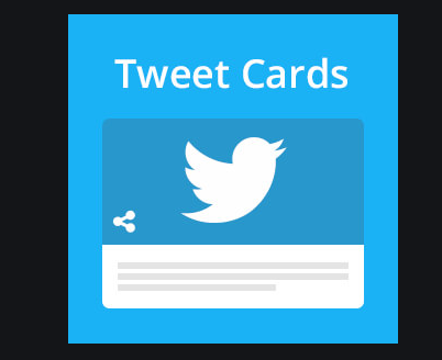 Twitter Card: 2020 Drive Engagement from Twitter Cards